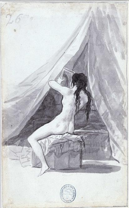 desnuda goya