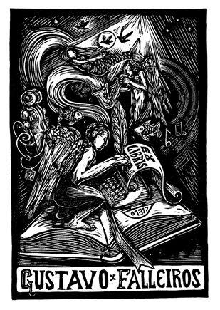Gustavo Falleiros- ExL 2008 10,5x7 cm