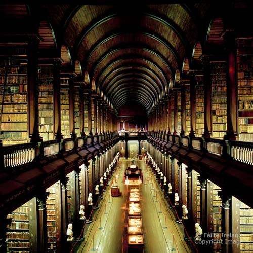 Dublin-The Long Room Library Trinity College