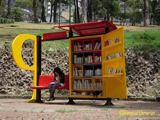 Paradero Para Libros Para Parques