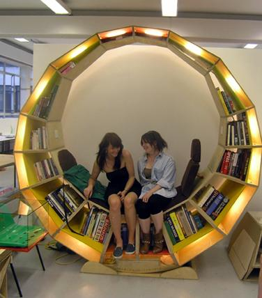 """Circle Library"" Chair"