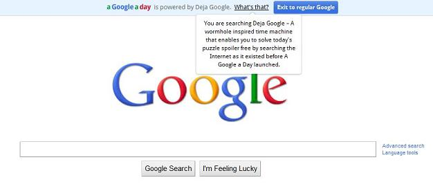 google a day