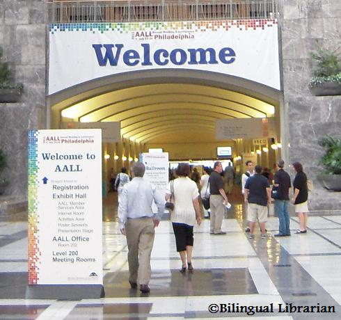 AALL 2011; First impressions