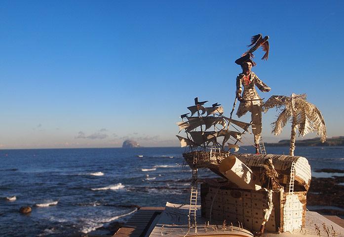 Scotland's secret book sculptures