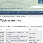 Free Technical Services Webinars!