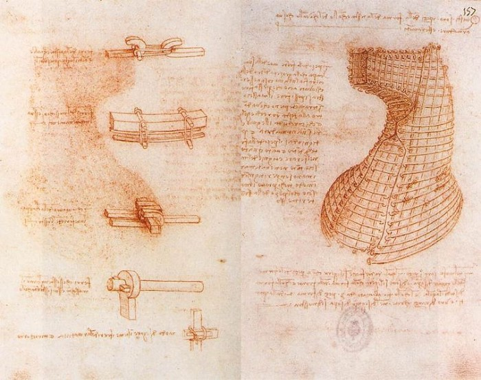 Leonardo_da_vinci,_Double_manuscript_page_on_the_Sforza_monument